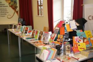 Unser Marktplatz am Fachtag 2016 - Aussteller Buchhandlung Collibri