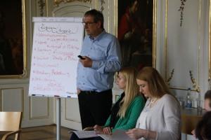 Eindrücke aus den Workshops: Es wurde viel gedacht, verknüpft und mitgenommen